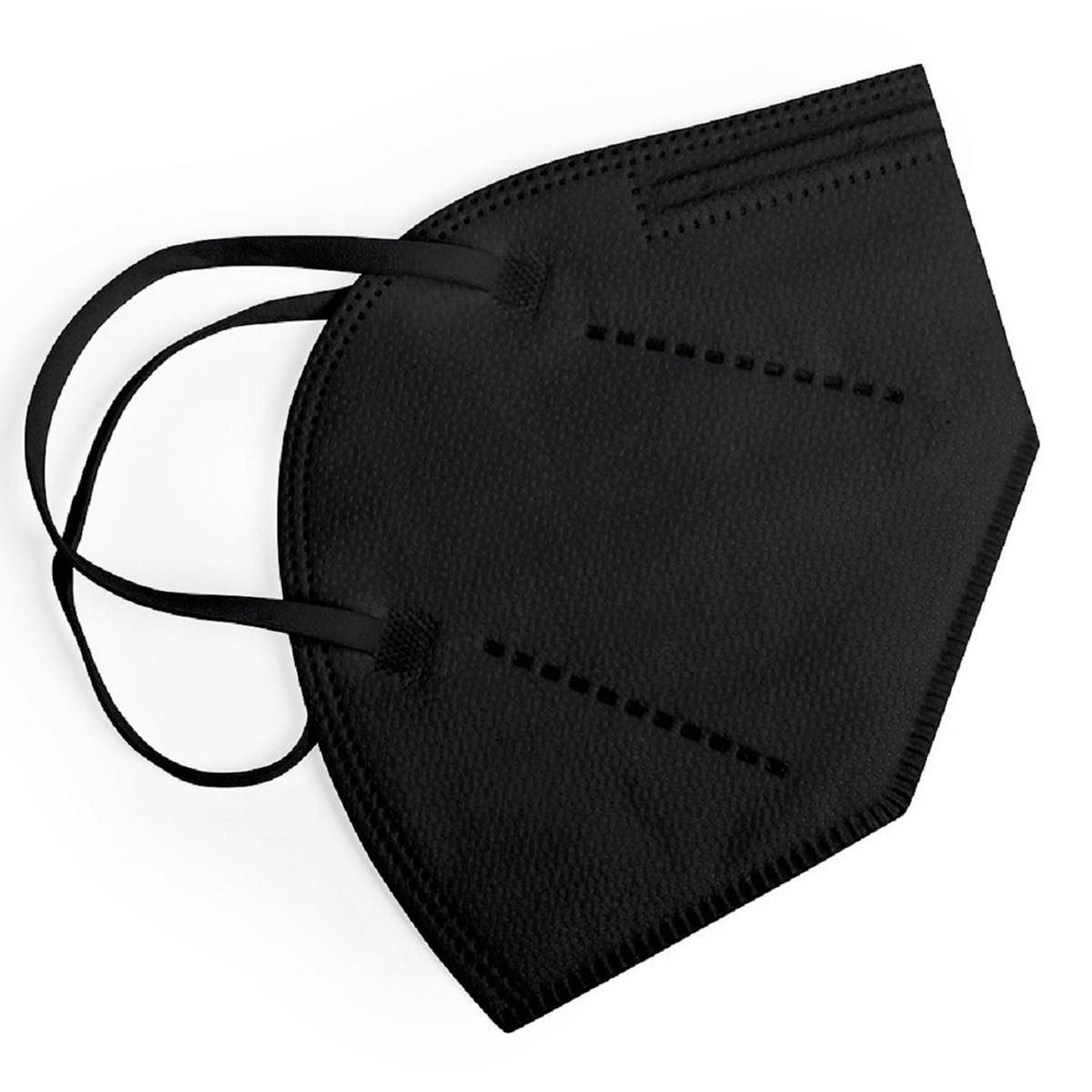 FFP2 Atemschutzmaske Standard (1VE=25 Stück) schwarz