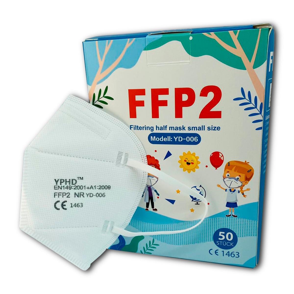 FFP2 Atemschutzmaske Mini (1VE=50 Stück)