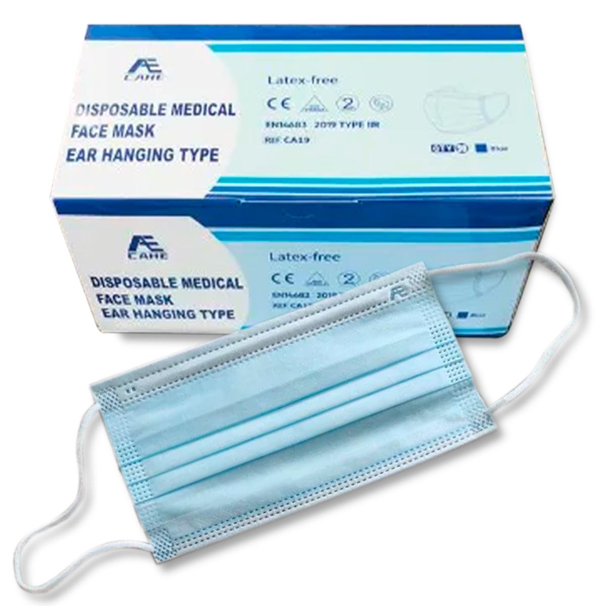 Mund-Nasen-Schutz Typ II R  (1VE=50 Stück)