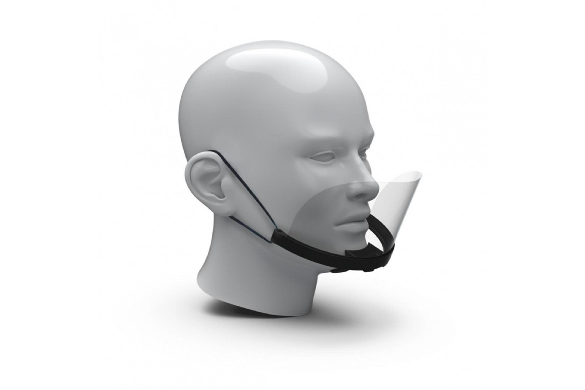 Mund-Nasen-Schild